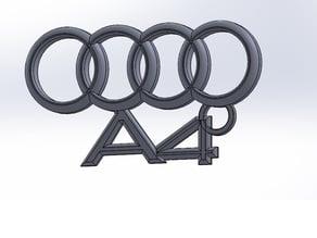 Audi A4 keychain