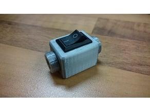 Smal Switch Box With Screws