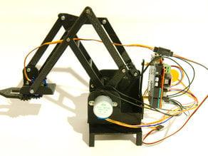 Stepper robot arm