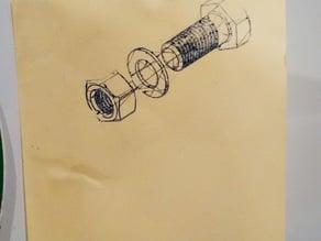 Convert a Fabrikator Mini into a drawing plotter