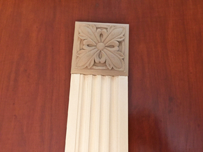 Victorian Rosette Block for door and window trim