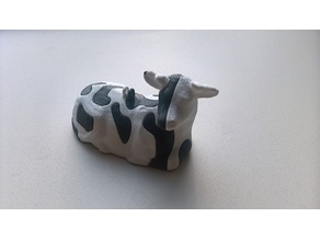 Single extruder - dual color Dutch Cow