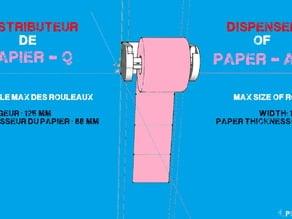 Dispencer of paper-ass   Distributeur de papier-Q