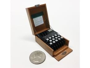 Mini Enigma Machine / Funkschlüssel C