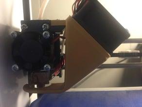E3Dv6 plus Fan mount for MP Mini