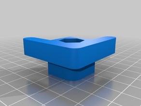 MakerBot Replicator 2 Adjustable Feet Solid Insert - 8mm Nut