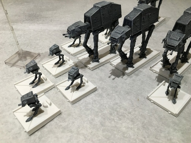 Star Wars X-wing: AT-ST and conversion kit