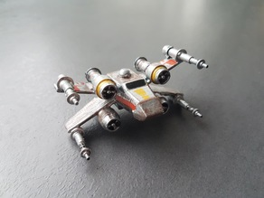 Puffy Vehicles - x-wing