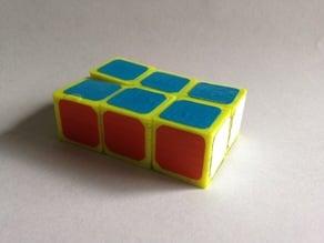 Print in place 1x2x3 Rubik's cube