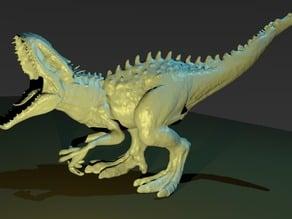 Indominus Rex sculpt