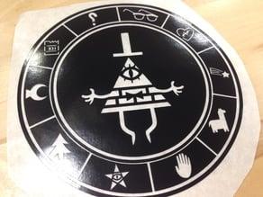 Bill Cipher Zodiac Vinyl