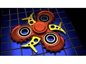 steam defied fidget spinner