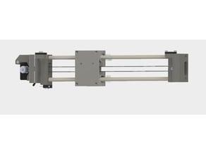 Dual Extruder mount for Prosa i3 Hephestos