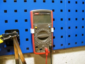 Pegboard UNIT Multimeter handle