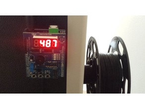 Balance, indicates the remaining weight of filament in the 3D printer