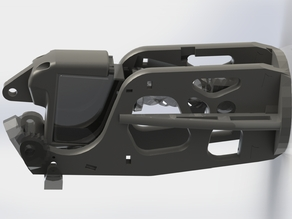 InMoov Stronger Bicep Frame