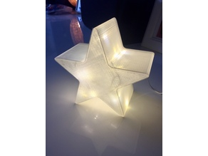 Christmas star - For fairy lights or LED candle