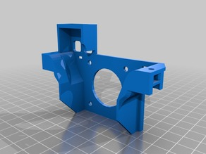 Dual Titan Extruder carriage with Molex 10 pin insert