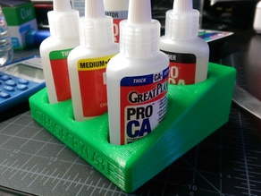 Cyanoacrylate Holder