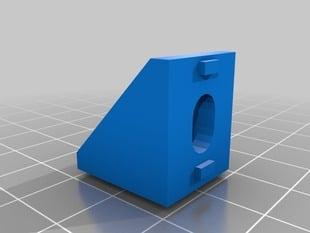 adafruit Aluminum Extrusion Corner Brace Support (for 20x20)