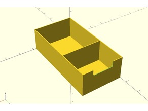Two section box