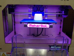 Makerbot Replicator Automated Part Removal Sweeping System