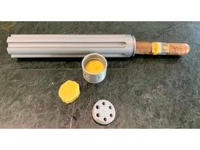Revolver Single Cigar Case [WIP]