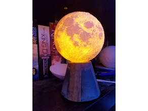 Moon Lithophane Lamp