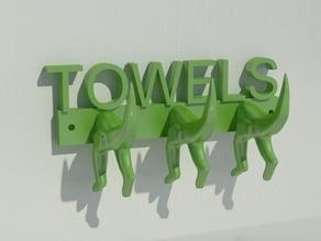 TOWELS DINO