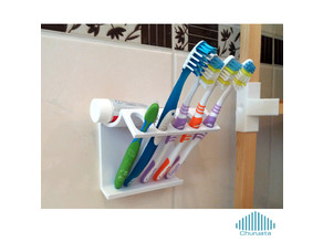 Brush Teeth Holder (Portacepillos)