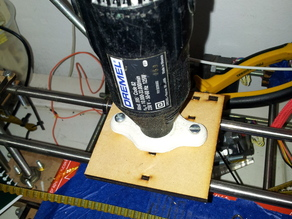 Dremel threaded base