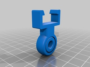 Clip Filament Guide for Anycubic Kossel 2020