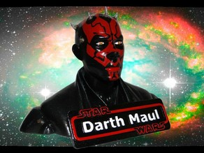 Star Wars - Darth Maul Name Plate