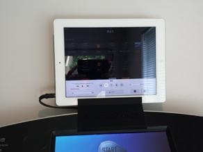 Tablet stand for Treadmill (NordicTrack T23.0)