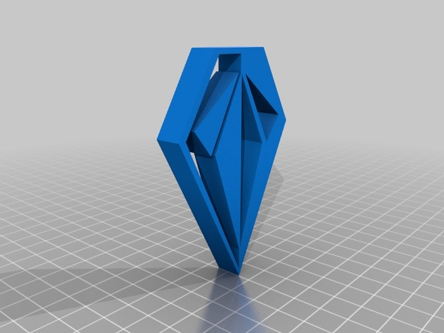 Volcom Logo By Sp4nky Thingiverse