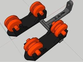 spool roller v3 with guide / support bobine v3 avec guide