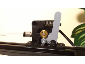 Bowden Extruder (manually loosened) for Micromake C1 and other