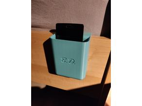 Bed phone holder