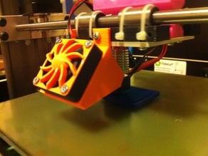 Reprap Cooling Fan Support Tobeca 2