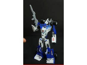 Transformers Classic Mirage G1 weapons