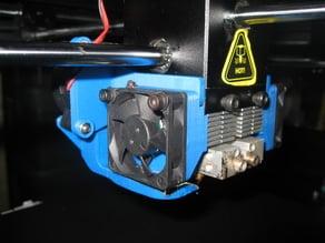 Raise 3D N2/N2+ model fan ducts