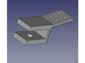 Geeetech Y-Axis cable strain clamp
