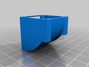 Deflector for E3D-V5 30mm fan