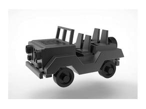 Jeep Car miniature toy