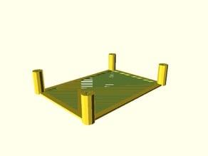 Generic configurable PCB mount