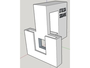Flat Solid Square Sample Cuvette