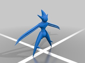 Deoxys Attack form