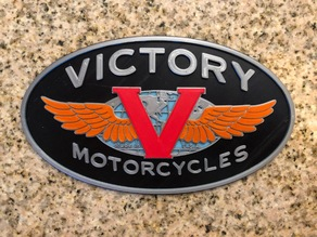 Victory Motorcycles Logo Sign