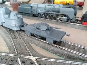 Panzerjagerwagen T-34 in H0 scale