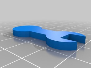 My Customized Parametric Wrench in OpenSCAD